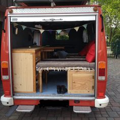 Zwischenbilanz Ausbau Bus Camper Van, Fire Department, Rv, Recreational Vehicles, Travel Trailers, Campers