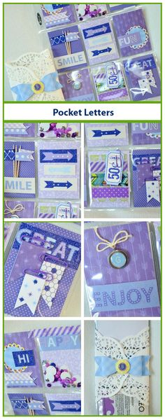 Pocket letters are hitting the crafty community like a storm! It's the fun way to get to know other crafters as well as swap products. Learn what all the rage is about in Designer Grace's step-by-step tutorial!