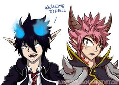 *Pats seat next to self* Come and sit guys! I saved you a spot! (My friends always call me a soulless ginger, so I consider myself a demon XD) Arte Fairy Tail, Fairy Tail Gray, Fairy Tail Funny, Fairy Tail Natsu And Lucy, Fairy Tail Manga, Fairy Tail Ships, Anime Fairy, Blue Exorcist Anime, Ao No Exorcist