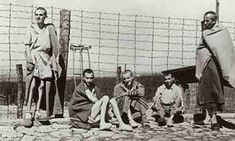 Emaciated survivors of the Buchenwald concentration camp soon after the liberation of the camp. Germany, after April Elie Wiesel, Refugees In Europe, Buchenwald Concentration Camp, Holocaust Memorial, Memorial Museum, Homeless People, Oral History, History Photos, World War Two