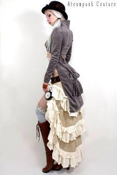 Steampunk   Period   Victorian   Beauty   Fashion   Costume   Couture