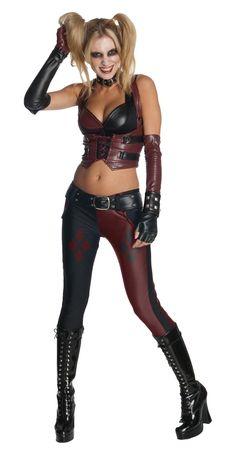 Déguisement Sexy Harley Quinn™ - Batman Arkham