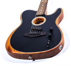The Fender Acoustic A new approach from the giant maker, but in a familiar body Fender Acoustic Guitar, Telecaster Guitar, Guitar Art, Electric Acoustic Guitar, Electric Guitars, Easy Guitar, Cool Guitar, Banjo, Guitar Neck
