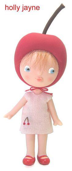 Little Miss Cherryhead by hollyjayne, via Flickr