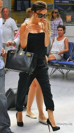 Victoria Beckham i just love her she is so posh no pun intended