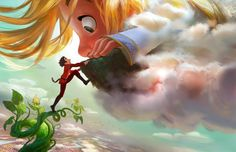 GIGANTIC, Disney's Animated Take On Jack And The Beanstalk, Coming In 2018 — GeekTyrant