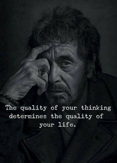 The quality of your thinking determines the quality of your life. via (https://ift.tt/2LO8err)