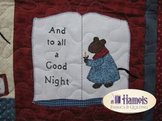 The Night Before Christmas Flannel Rag Quilt Embroidery Article ... : twas the night before christmas quilt - Adamdwight.com