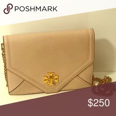 a27ce6e06a41e Tory Burch Crossbody Stunning Tory Burch crossbody. Color is a light oak  but looks more