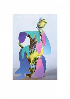 Samuel Solazzo: Farbenfluss: #Collage #Farbverlauf #Antike #Reproduktion #Farbenfluß #samuelsolazzo #startyourart www.startyourart.de
