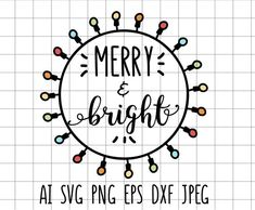 Blood Donation, Xmas Lights, Christmas Svg, Merry And Bright, Notes, Clip Art, Embroidery, Etsy, Needlework