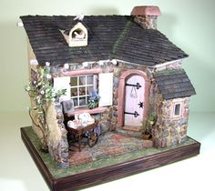 Rose Cottage I LOVE the layout and the roof <3