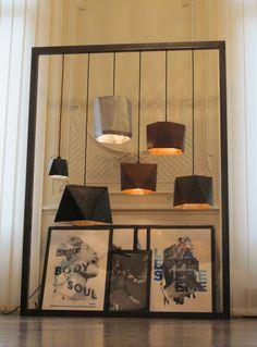 Lampshades collection by Olivier Marescaux www.oliviermarescaux.com #light #architecture #luminaires #metalwork #handmade #oliviermarescaux