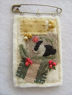 By The Bay Needleart: Stitch An Inch Spring Orni Day #5
