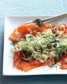 Fennel and Smoked Salmon Salad: marthastewart