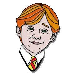 "Ron Weasley 1"" Soft Enamel Pin PRE ORDER"