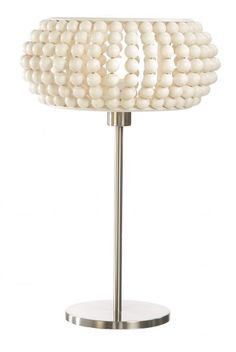 white Helmi table lamp