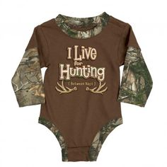 live-for-hunting-baby-suit
