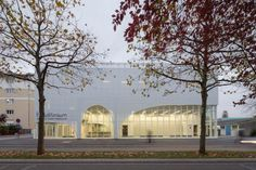 Auditorium and Conservatory, Bondy, France. Design:  Parc Architectes.  Image Courtesy © 11h45