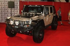 Decked-out #Jeep at #SEMA 2010