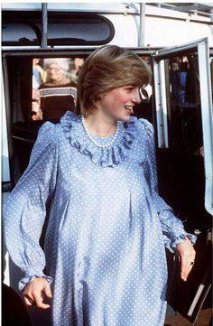April 20, 1982: Princess Diana visits St Mary's, Scilly Isles.