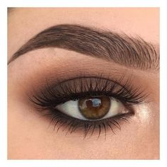For Brown Eyes - A great eye make-up. This makes the eyes expressive and ensures the perfect look. -Makeup For Brown Eyes - A great eye make-up. This makes the eyes expressive and ensures the perfect look. Eye Makeup Tips, Makeup Goals, Makeup Inspo, Skin Makeup, Makeup Inspiration, Makeup Hacks, Makeup Ideas, Makeup Tutorials, Beauty Makeup