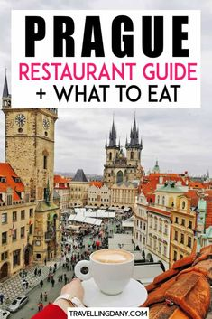 The best guide to what to eat in Prague, full of tips from the locals! Discover the delicious traditional Czech food, and where to eat yummy dishes for less! It includes a restaurant guide that will be handy for your next trip to Prague! Prague Travel Guide, Europe Travel Tips, Travel Destinations, Road Trip Europe, Cities In Europe, European Destination, European Travel, Czech Food, Backpack Through Europe