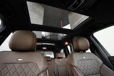 The 2013 GL-Class interior. European model shown. For more information, visit here: http://mbenz.us/LBgBAZ