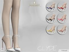 TSR : MJ95's Madlen Clyde Shoes.