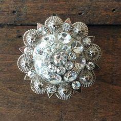 Glass Drawer Knob Pull Crystal Dresser Knobs Pulls Handle Silver ...
