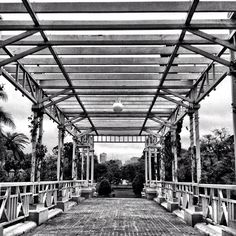 Perspective 101 #bw #bridge #lines #perspective #buenosaires #blackandwhite #blancoynegro #streetphotography #city #argentina #iphoneonly