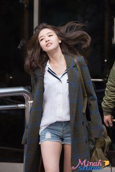 Girl's Day MinAh fashion