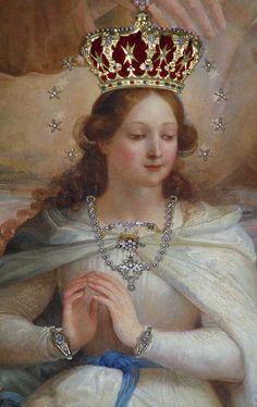 Maria, Rainha de tudo que foi criado por Deus.
