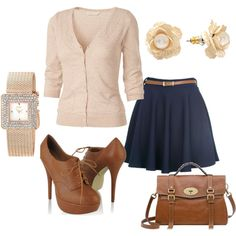 College style, created by jessicanicoleandrus on Polyvore