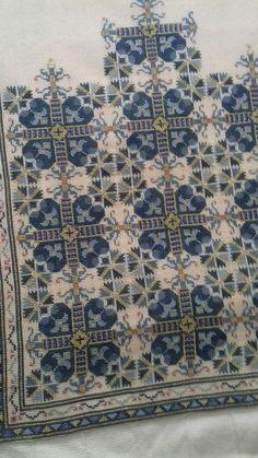 Cross Stitching, Cross Stitch Embroidery, Embroidery Patterns, Hand Embroidery, Cross Stitch Charts, Cross Stitch Designs, Cross Stitch Patterns, Palestinian Embroidery, Needlepoint Pillows