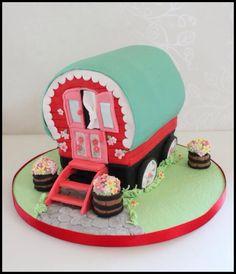 Gypsy Wagon Cake