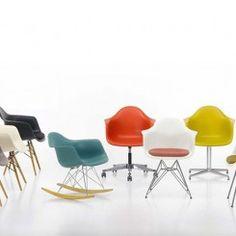 Inspire-se com as cadeiras Charles & Ray Eames, grandes marcos do design de móveis