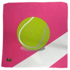 "Amazon.com : Tennis Grip Towel Microfiber ""Hot Pink Line Judge"" Tennis Accessories : Tennis Racket Grips : Sports & Outdoors"