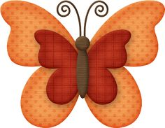 MARIPOSAS - Tita K - Picasa Web Albums.  You could try this with felt.