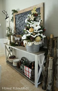 Holiday Home Tour 2014 | Home Remedies