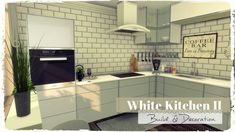 Sims 4 - White Kitchen II