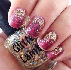 Million Dollar Gradient by Glitter Lambs. Worn by @shelseamagan www.GlitterLambsShop.com