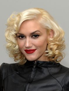 Since she's become a mom, I've loved her classic and chic hair styles.  short and curly hair and vintage - Google Search