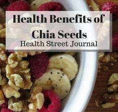 health benefits of chia seed