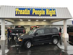 Congratulations Amanda Vaughn on the purchase of your brand new Jeep Patriot. We appreciate your business & friendship.