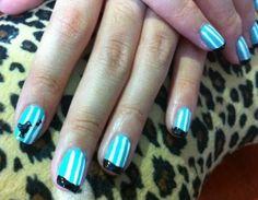 Stripes, blue bird