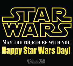 Happy Star Wars Day!  Share your Star Wars pins @pin-n-tell.com