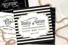 Art Deco/Gatsby style fonts, graphics, etc @Nicole Novembrino Novembrino Titus a gatsby wedding?