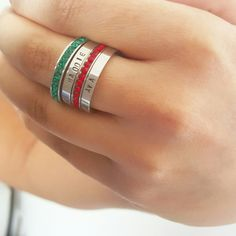 Rings rings rings!!! Stack them up!.