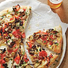 Farmers' Market Pizza | MyRecipes.com